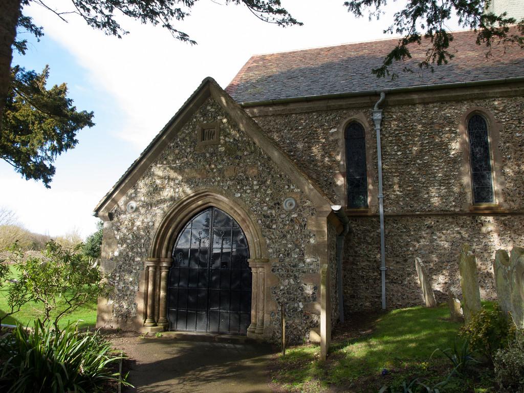 Patching church by josiegilbert