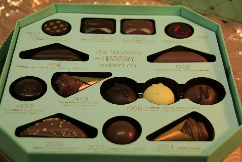 Neuhaus Box of chocolates by bizziebeeme
