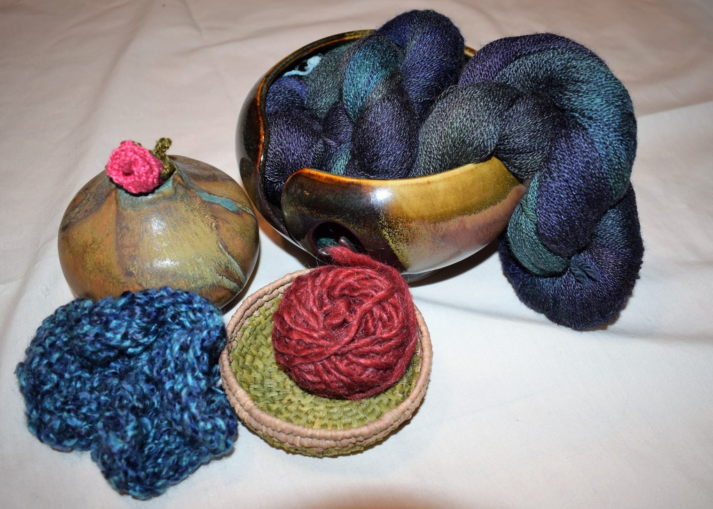 Yarn Still Life by sandlily
