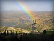 7th Mar 2017 - Rainbow over pylons