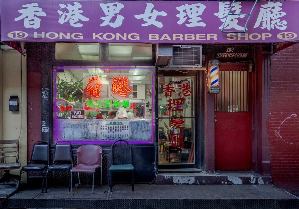 Chinatown Barber Shop Closeup by jyokota