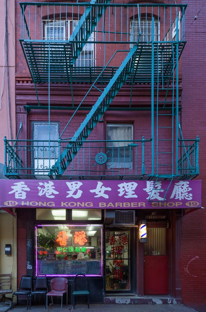 Chinatown Barber Shop by jyokota
