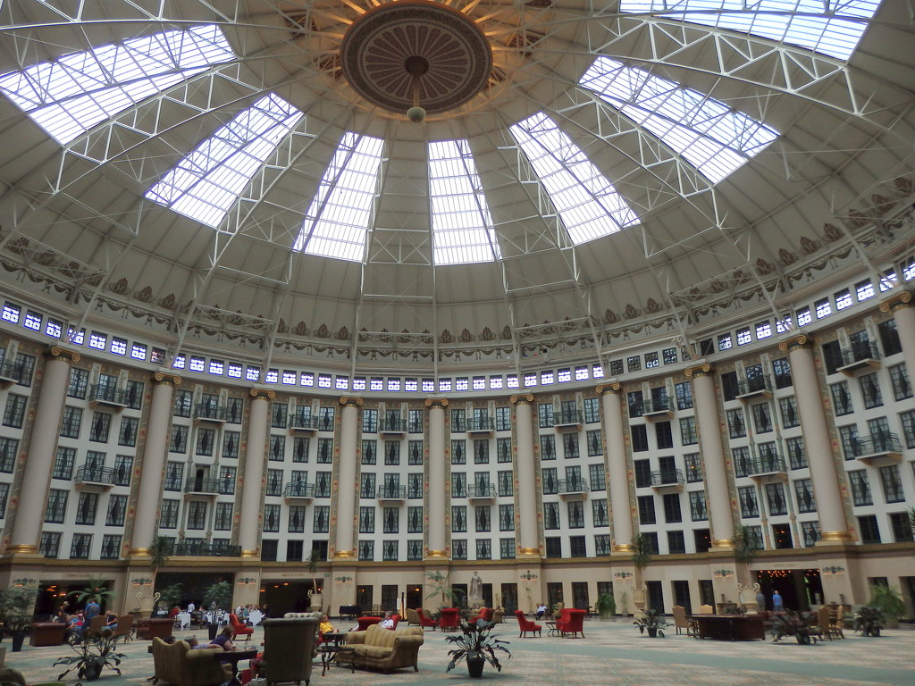 West Baden Hotel by sarasdadandmom