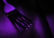 11th Mar 2017 - Purple fork...