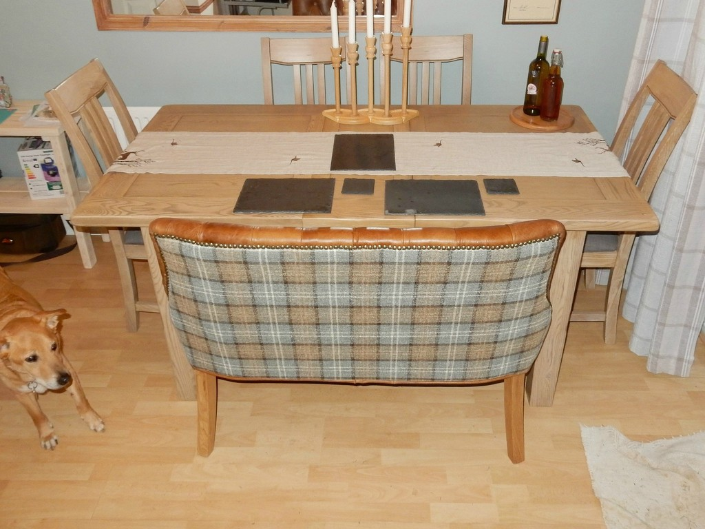 The Completed Dining Set by bulldog