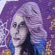12th Mar 2017 - Violet Street Art, For Rainbow2017_DSC3566_DSC3565