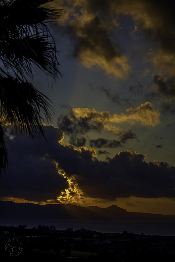 Akamas Sunset by evalieutionspics
