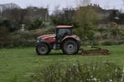 17th Mar 2017 - Tractor from bedroom window