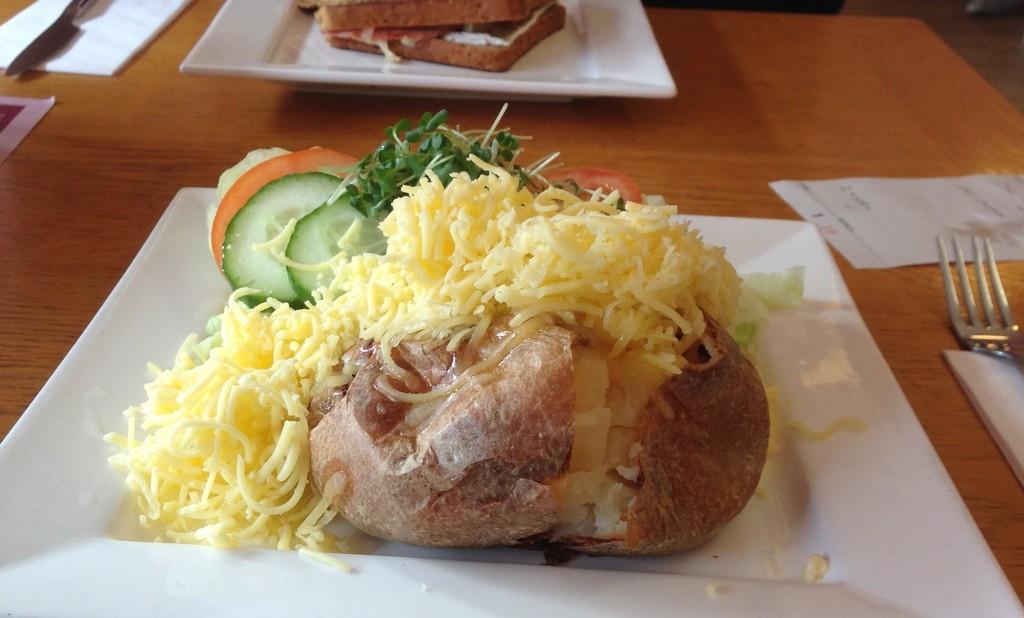 Jacket Potato by arkensiel