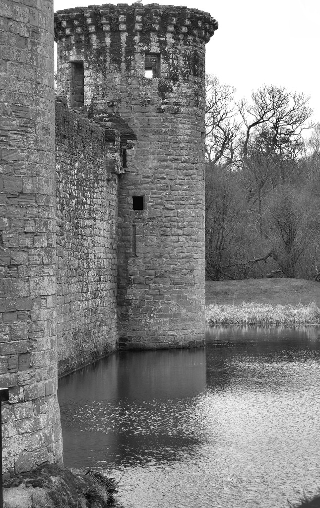 Murdochs Tower Caerlaverock Castle by barneyone