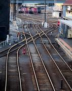 18th Mar 2017 - Gleaming Rails From Bridge Cliche