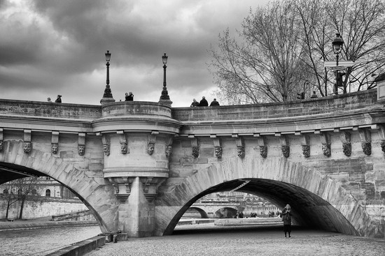 Sous les Ponts de Paris by jamibann