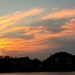 Sunset over Colonial Lake, Charleston, SC by congaree