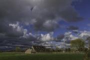 21st Mar 2017 - Farmhouse across fields