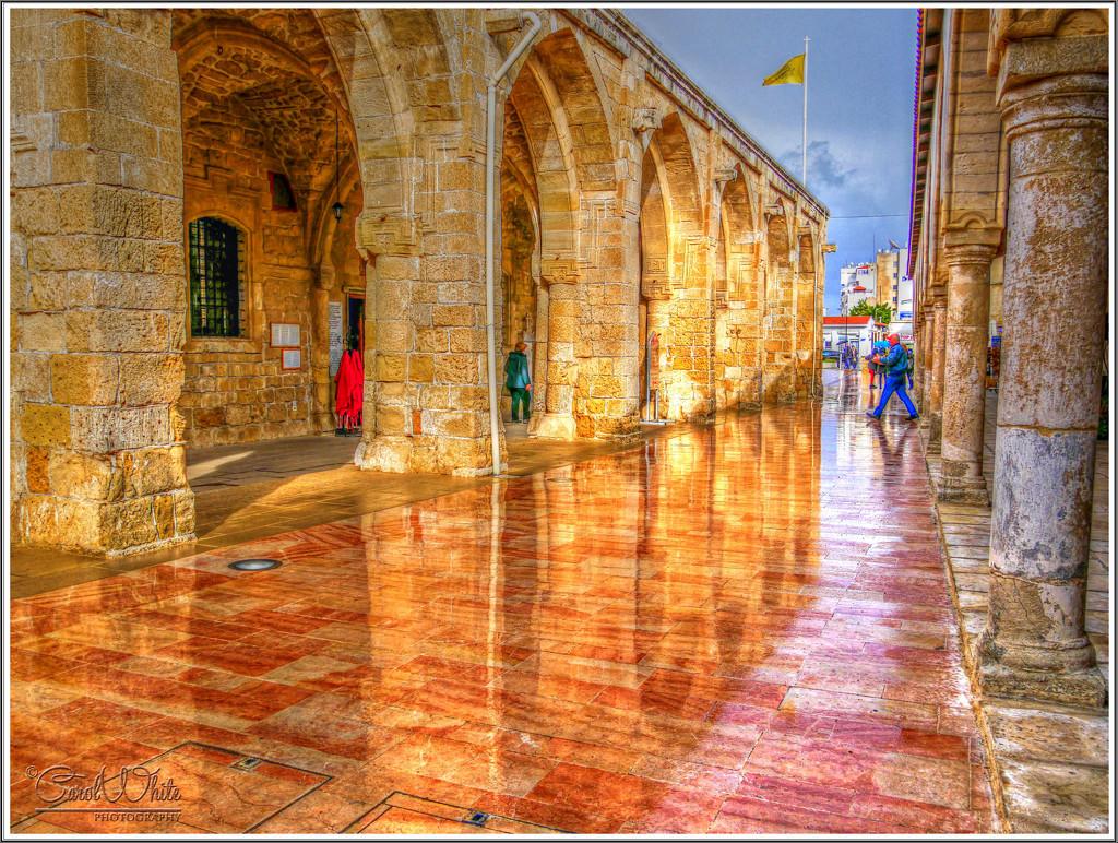 Reflections After The Rain,Agios Lazaros Church,Larnaca, Cyprus by carolmw