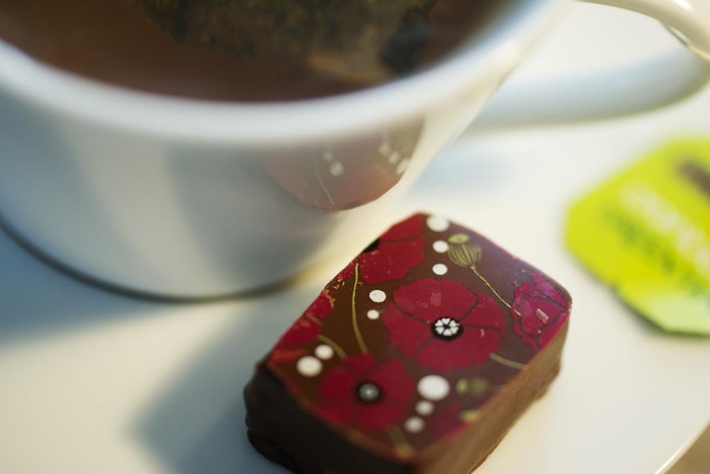 Tea and Chocolate by bizziebeeme