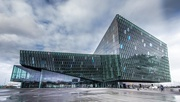 23rd Mar 2017 - Momentary Blue Sky at the Harpa Center for Music