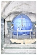 21st Mar 2017 - The chapel in the Ice Hotel
