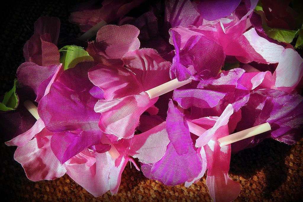 Purple Lei by homeschoolmom