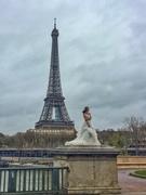27th Mar 2017 - Eiffel bride.