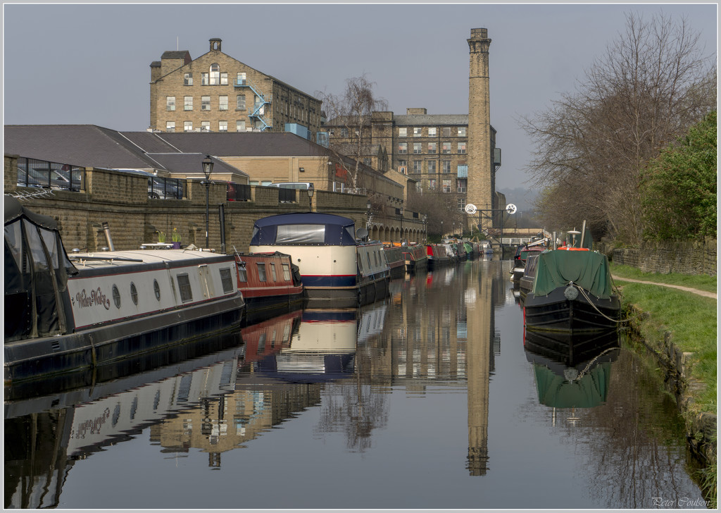 Broad Canal Reflections by pcoulson