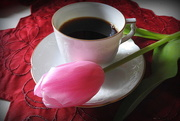 1st Apr 2017 - Put coffee tulips and drink! LOL!