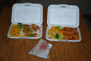 1st Apr 2017 - Chinese Take-out with sis