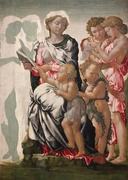 2nd Apr 2017 - Michelangelo's 'The Manchester Madonna'