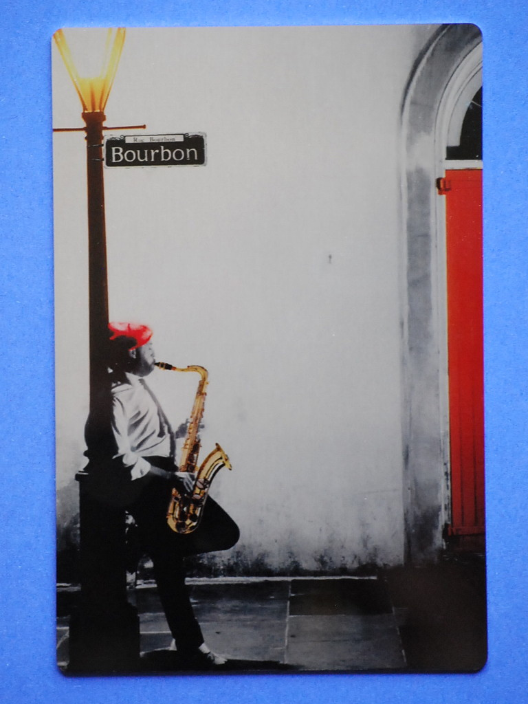 metal postcard from New Orleans by stillmoments33