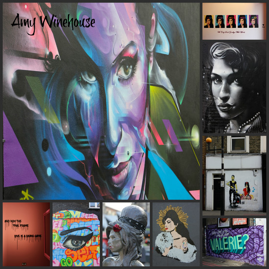 Amy Street Art Trail, Camden by jamibann