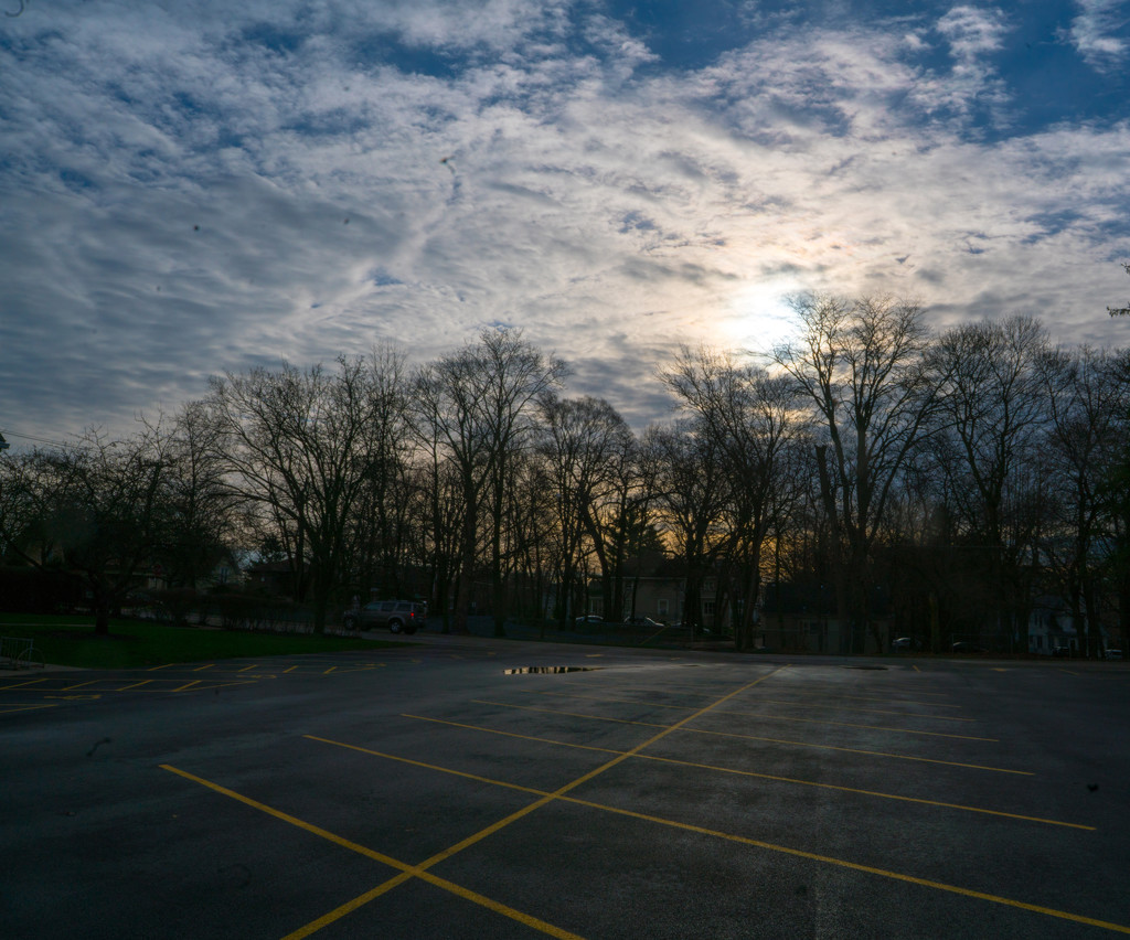 parking Lot in the morning by rminer