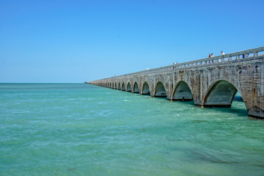Old Seven Mile Bridge by danette