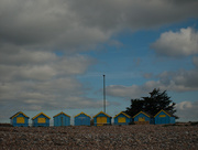 10th Apr 2017 - Blue beach huts