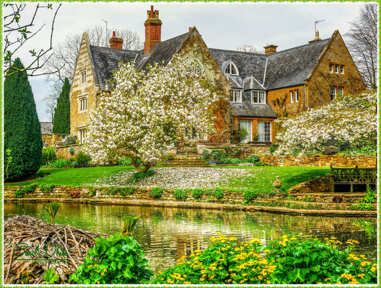 Coton Manor In Springtime by carolmw