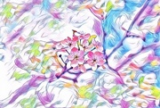 12th Apr 2017 - spring abstract