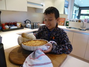 13th Apr 2017 - Our Grandson Jak busy in the kitchen . . .