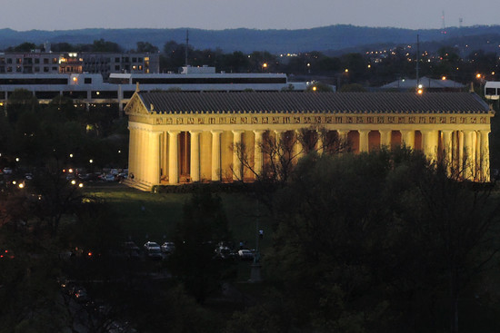Parthenon, Nashville Style (at dusk) by lsquared