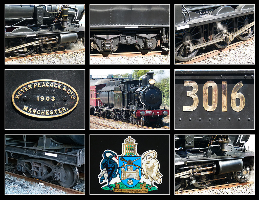 Locomotive 3016 by onewing