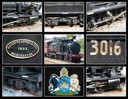 16th Apr 2017 - Locomotive 3016