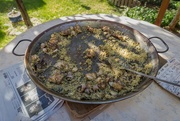 9th Apr 2017 - The Remains of Valencian Paella
