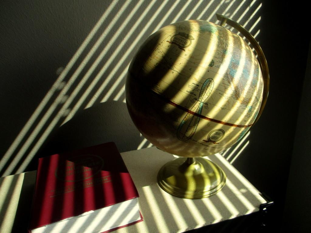 Dictionary & Globe  by granagringa