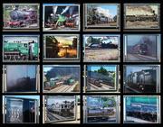 18th Apr 2017 - Lotsa Trains