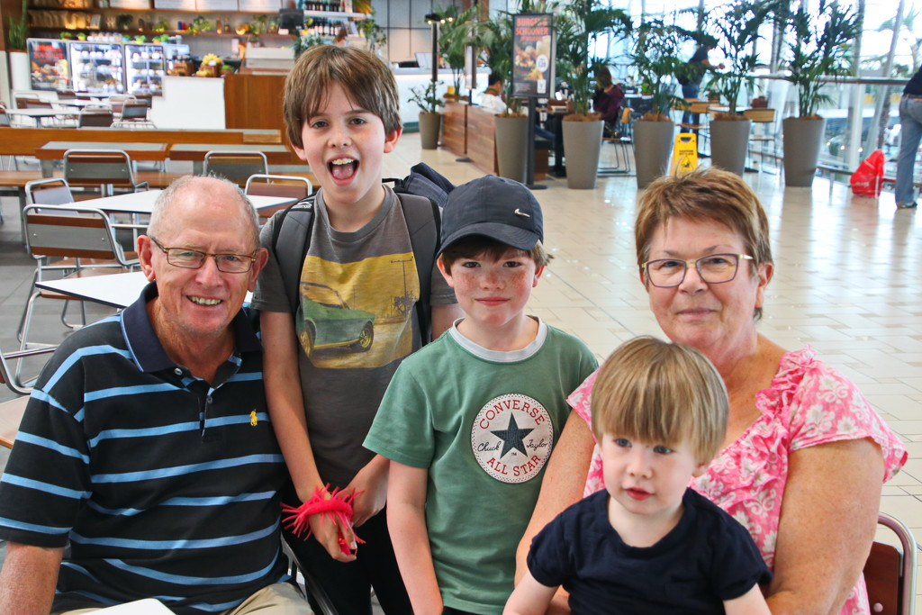 Selfie with Nanna and the Grandsons by terryliv