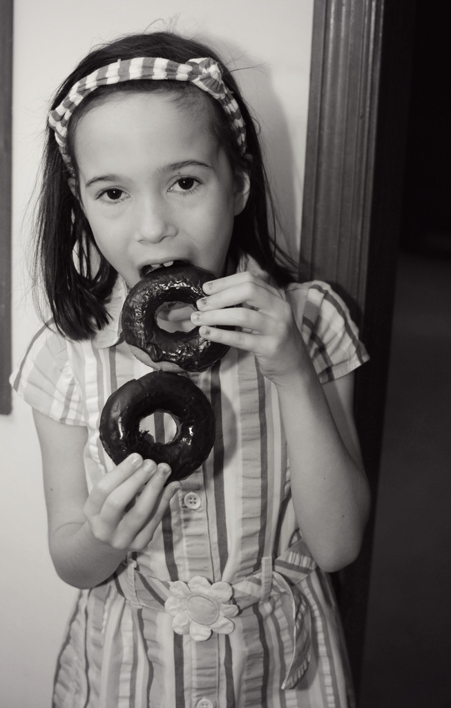 She Ate and She Ate...and She's 8!!! by alophoto