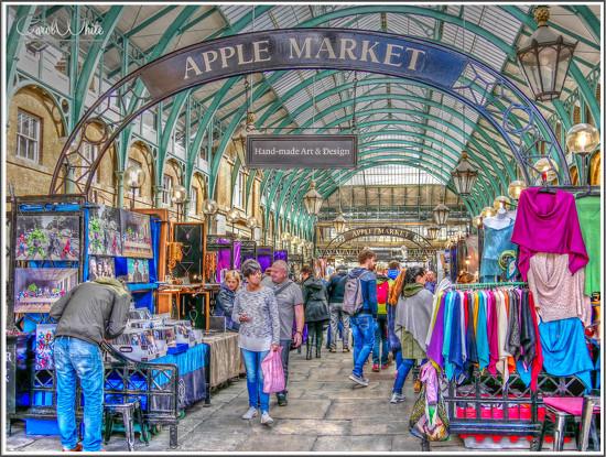 Apple Market, Covent Garden by carolmw