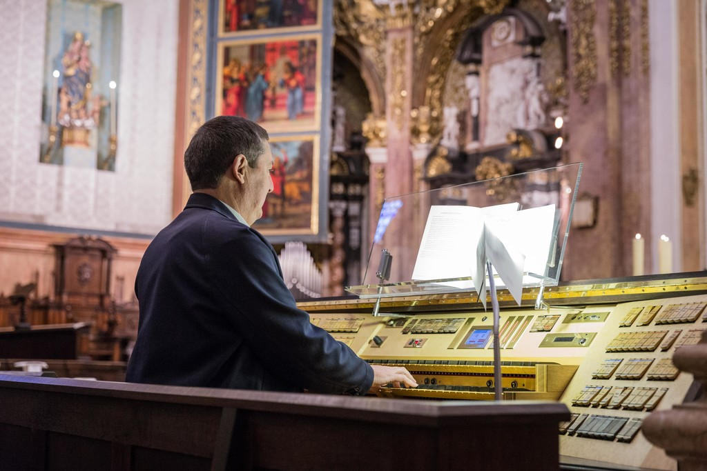 Valencia Cathedral Organist by jyokota