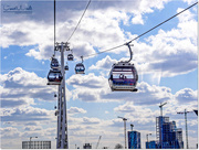 25th Apr 2017 - Riding On The Emirates Cable Car