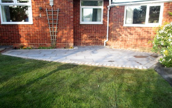 Completed Patio by g3xbm