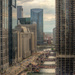 Almost Golden Hour Above the Chicago River by taffy