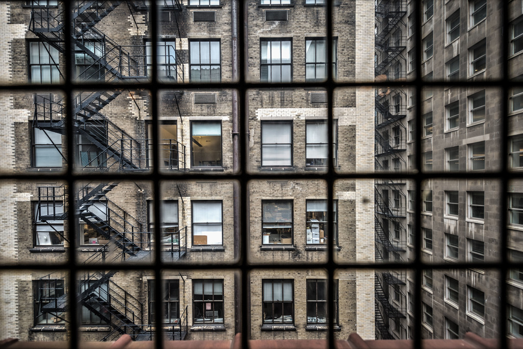 Rear Window by taffy